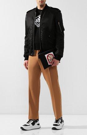 Мужская текстильный клатч valentino garavani x undercover VALENTINO черного цвета, арт. SY0P0R06/QQV | Фото 2