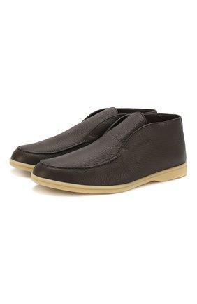 Кожаные ботинки Open Walk | Фото №1