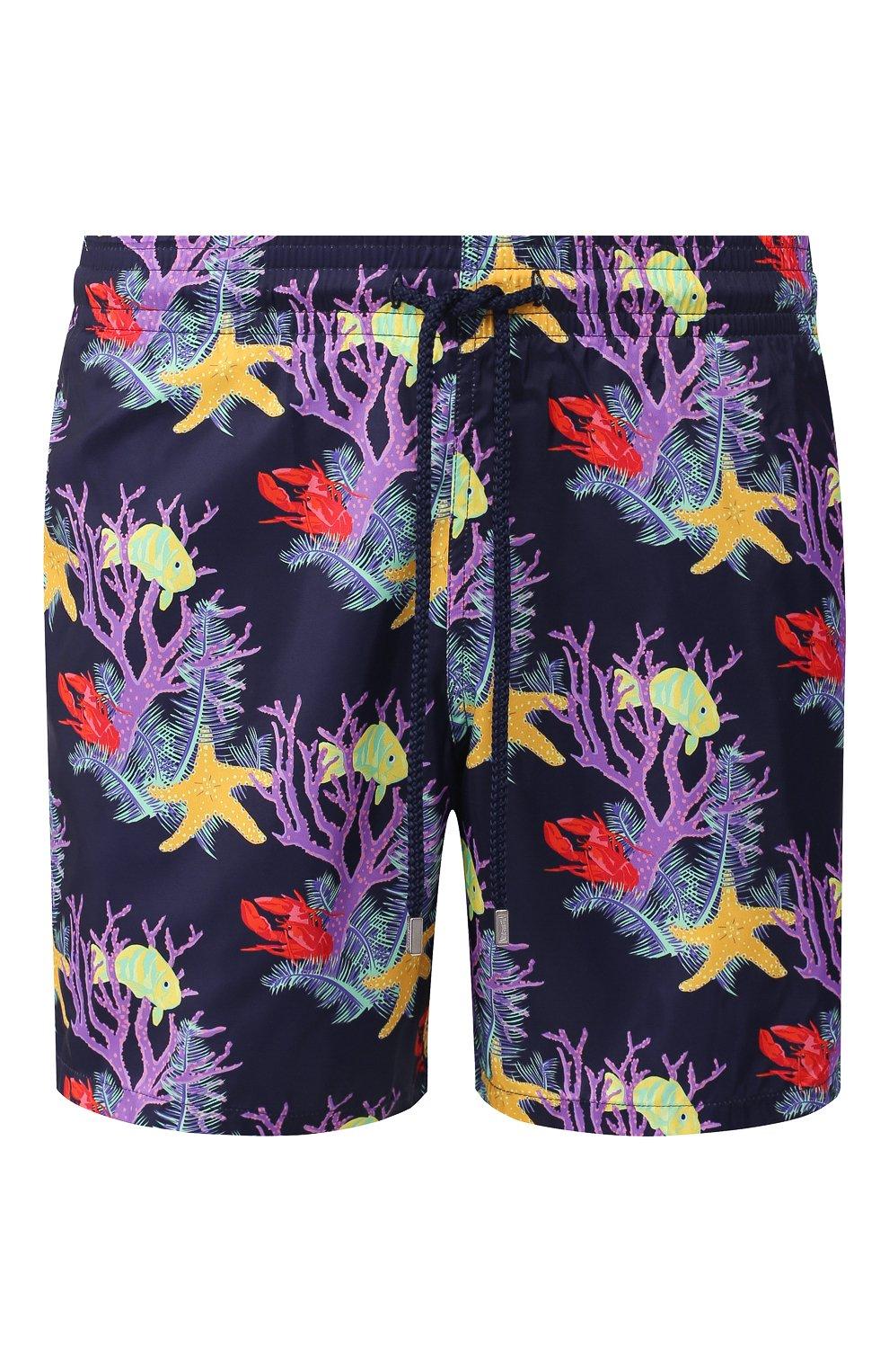 Мужские плавки-шорты VILEBREQUIN фиолетового цвета, арт. MAHU0J02 | Фото 1