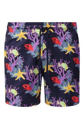 Детского плавки-шорты VILEBREQUIN фиолетового цвета, арт. MAHU0J02 | Фото 1