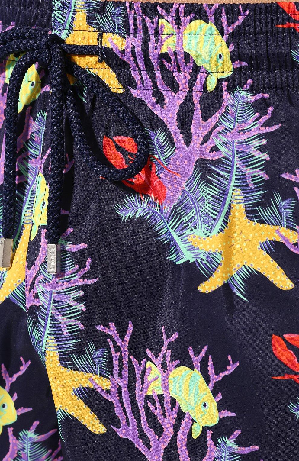 Мужские плавки-шорты VILEBREQUIN фиолетового цвета, арт. MAHU0J02 | Фото 5