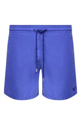 Детского плавки-шорты VILEBREQUIN синего цвета, арт. MOOC0D00 | Фото 1