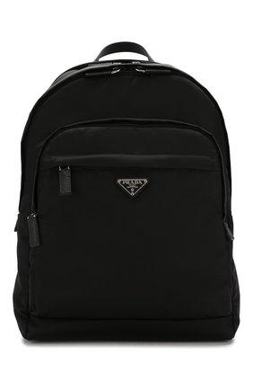 Мужской рюкзак PRADA черного цвета, арт. 2VZ048-973-E24-OOO | Фото 1