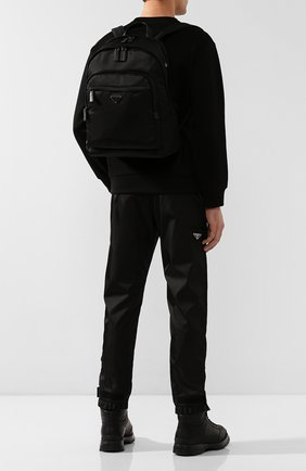 Мужской рюкзак PRADA черного цвета, арт. 2VZ048-973-E24-OOO | Фото 2