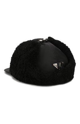 Мужской бейсболка PRADA черного цвета, арт. 2HC172-2CKK-F0002 | Фото 2