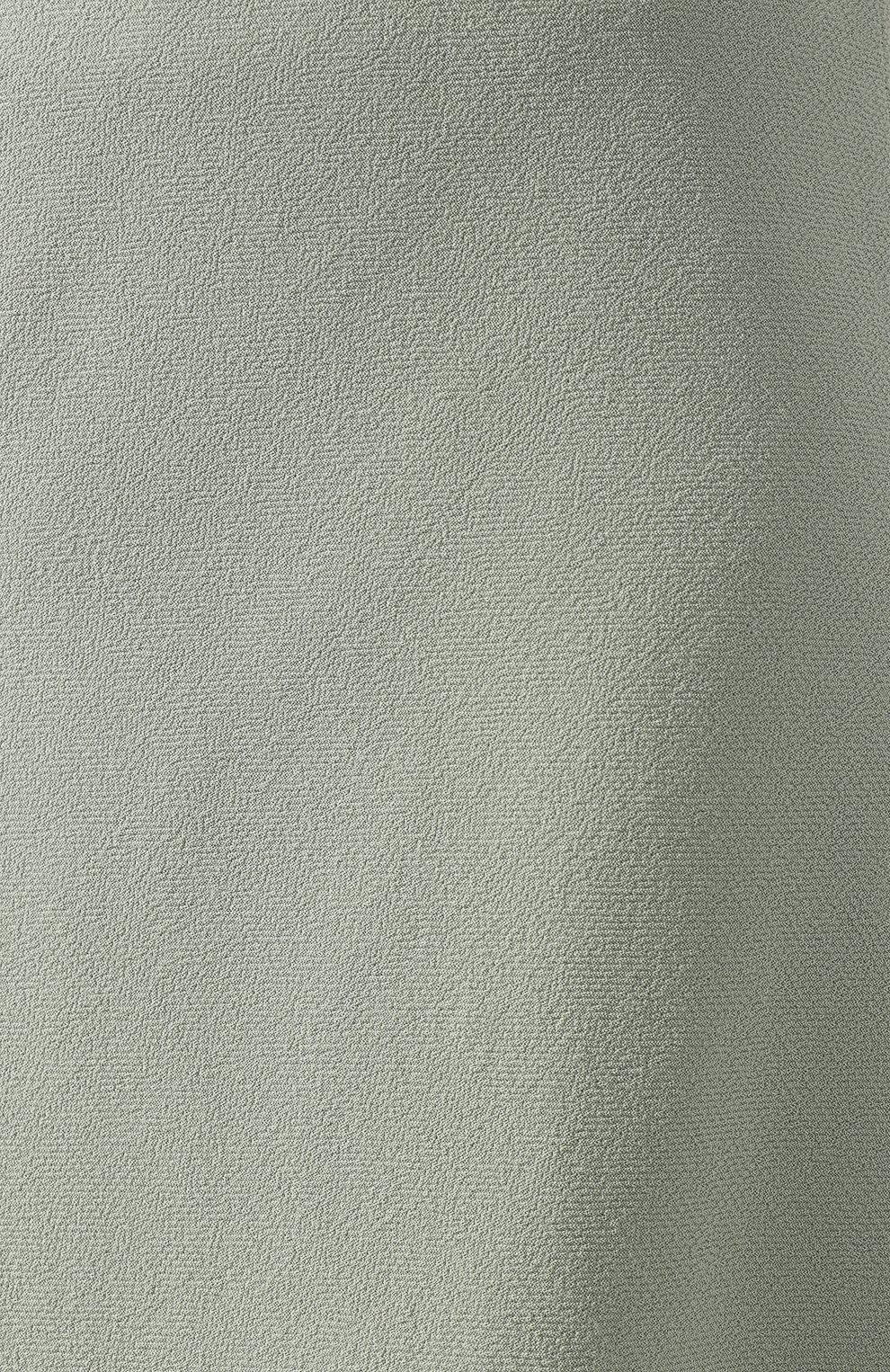 Женская шерстяная юбка JM STUDIO зеленого цвета, арт. FW192018 | Фото 5