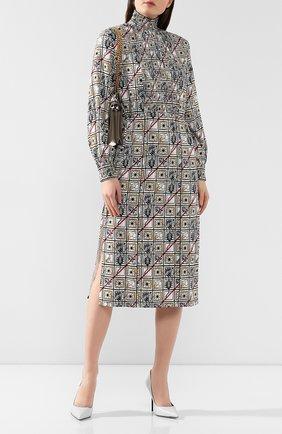 Платье с принтом | Фото №2