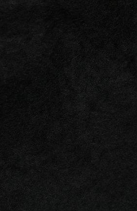 Мужские шерстяной шарф aurora BALMUIR черного цвета, арт. AUR0RA KID M0HAIR SCARF | Фото 2
