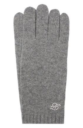 Женские кашемировые перчатки zermatt BALMUIR серого цвета, арт. ZERMATT GL0VES B-L0G0/MELANGE | Фото 1