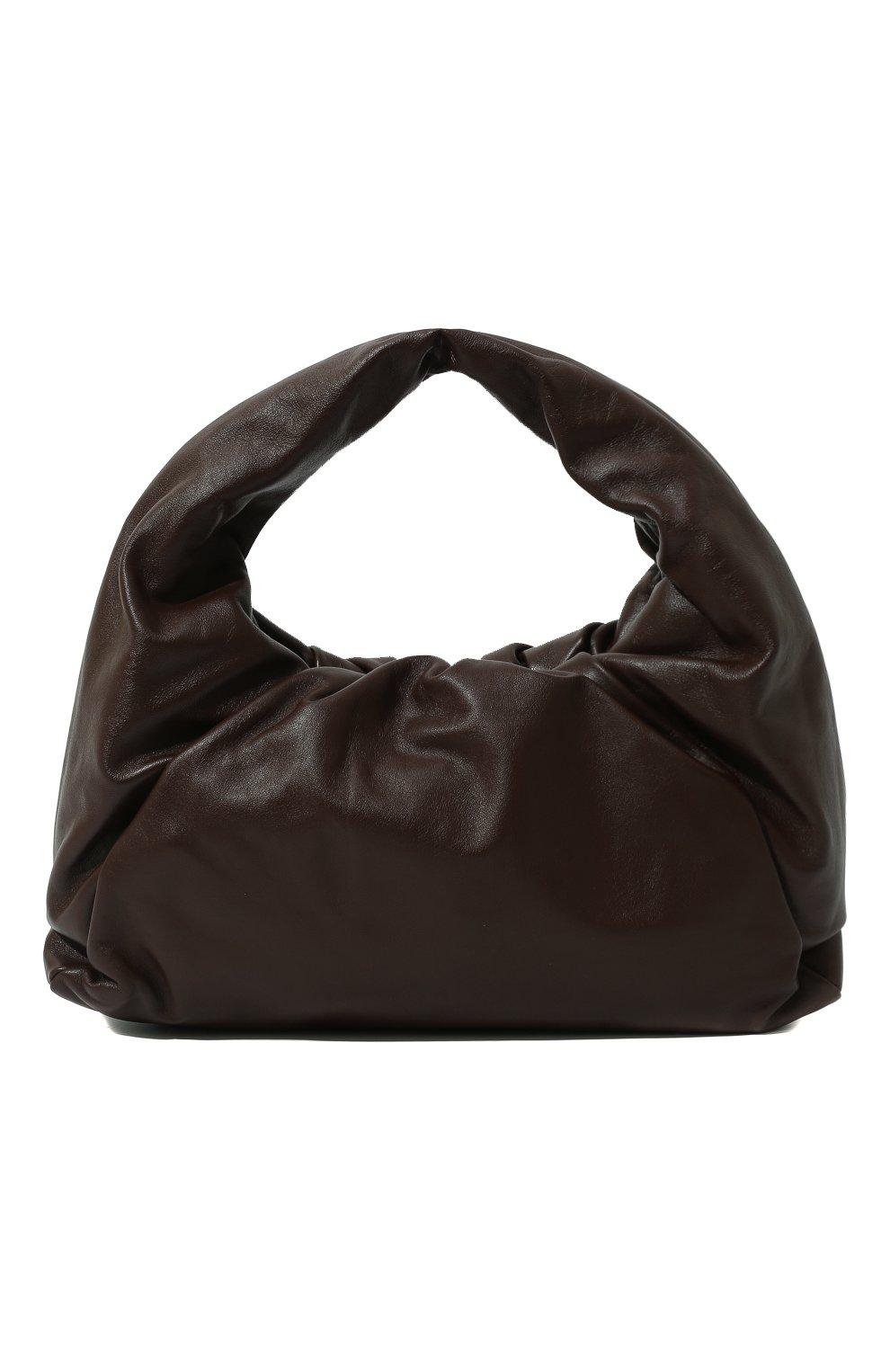 Женская сумка shoulder pouch BOTTEGA VENETA коричневого цвета, арт. 610524/VCP40 | Фото 1