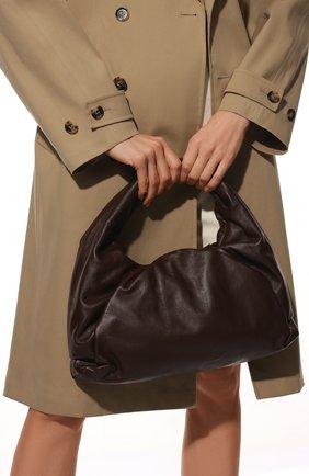 Женская сумка shoulder pouch BOTTEGA VENETA коричневого цвета, арт. 610524/VCP40 | Фото 2