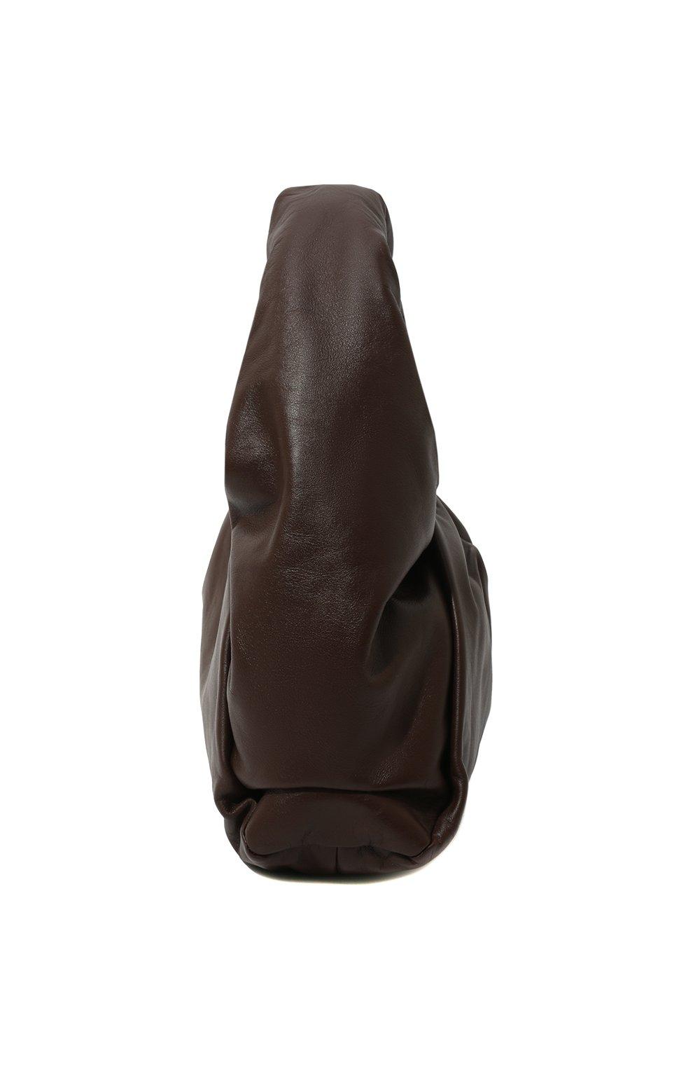 Женская сумка shoulder pouch BOTTEGA VENETA коричневого цвета, арт. 610524/VCP40 | Фото 4