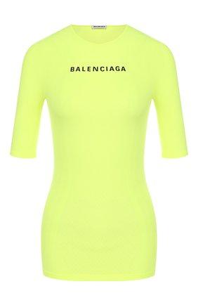 Женская топ BALENCIAGA желтого цвета, арт. 570786/TEVC1 | Фото 1