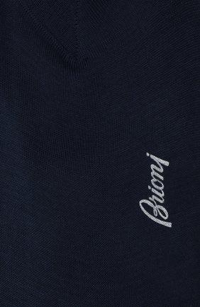 Мужские хлопковые носки BRIONI синего цвета, арт. 0VMC00/P9Z02 | Фото 2