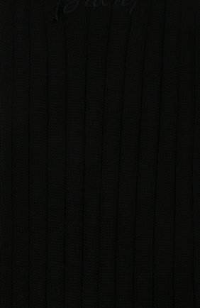 Мужские хлопковые носки BRIONI черного цвета, арт. 0VMC00/P9Z03 | Фото 2