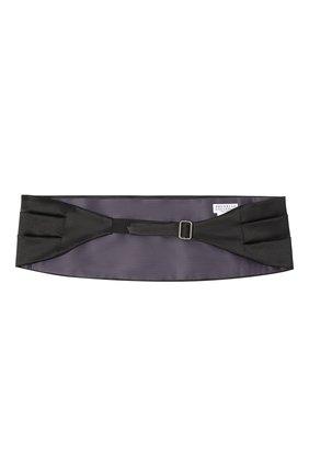 Мужской камербанд из хлопка и шелка BRUNELLO CUCINELLI темно-синего цвета, арт. MR813S005 | Фото 3