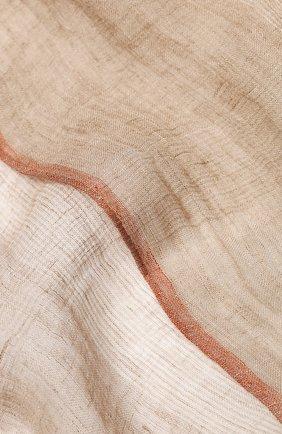 Шарф из смеси льна и шелка | Фото №2