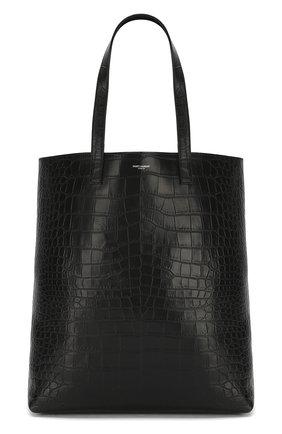 Кожаная сумка-тоут | Фото №1