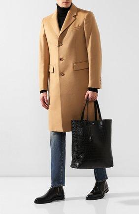 Кожаная сумка-тоут | Фото №2