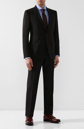 Мужские кожаные монки O`KEEFFE коричневого цвета, арт. 0K1425/PARA SHINE | Фото 2