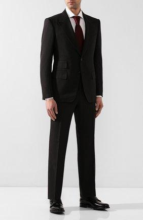 Мужские кожаные монки O`KEEFFE черного цвета, арт. 0K1425/PARA SHINE | Фото 2