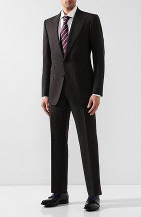 Мужские кожаные монки O`KEEFFE темно-синего цвета, арт. 0K1425/PARA SHINE | Фото 2