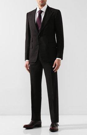 Мужские кожаные монки O`KEEFFE бордового цвета, арт. 0K1424/BRAV0 | Фото 2