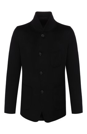 Мужской кашемировый пиджак GIORGIO ARMANI темно-синего цвета, арт. 9WGGG0AN/T0184 | Фото 1