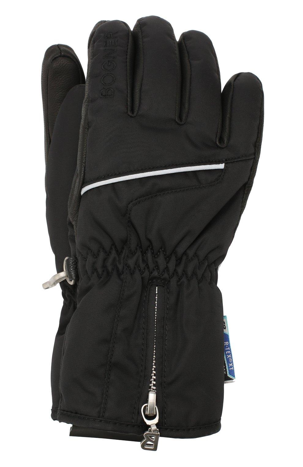 Детские перчатки BOGNER KIDS черного цвета, арт. 4497261   Фото 1