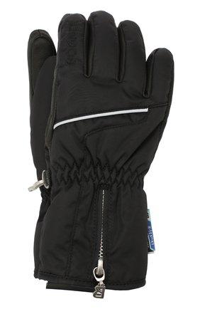 Детские перчатки BOGNER KIDS черного цвета, арт. 4497261 | Фото 1