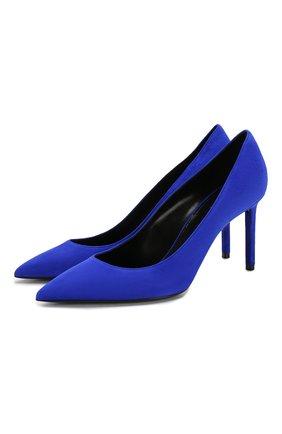 Замшевые туфли Anja | Фото №1