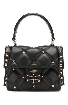Женская сумка valentino garavani candystud mini VALENTINO черного цвета, арт. TW2B0D01/NAP | Фото 1