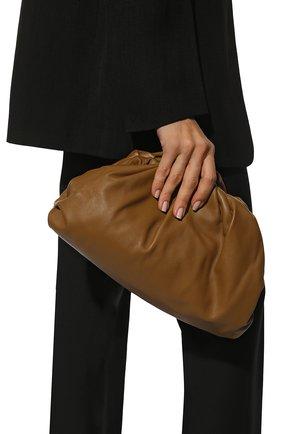 Женский клатч pouch BOTTEGA VENETA коричневого цвета, арт. 576227/VCP40 | Фото 2