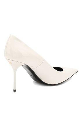 Женские кожаные туфли TOM FORD белого цвета, арт. W2523T-LCL072 | Фото 4