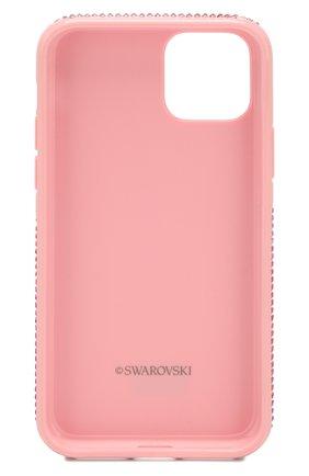 Мужской чехол для iphone 11 pro SWAROVSKI розового цвета, арт. 5531151 | Фото 2