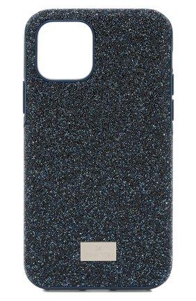 Мужской чехол для iphone 11 pro SWAROVSKI синего цвета, арт. 5531145 | Фото 1