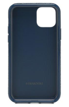 Мужской чехол для iphone 11 pro SWAROVSKI синего цвета, арт. 5531145 | Фото 2
