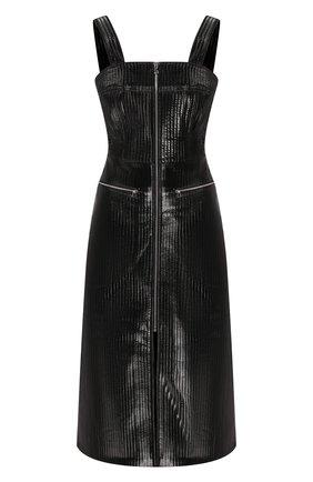 Платье из экокожи | Фото №1