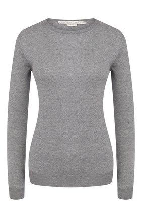 Женская шерстяной пуловер STELLA MCCARTNEY темно-серого цвета, арт. 322182/S1735 | Фото 1
