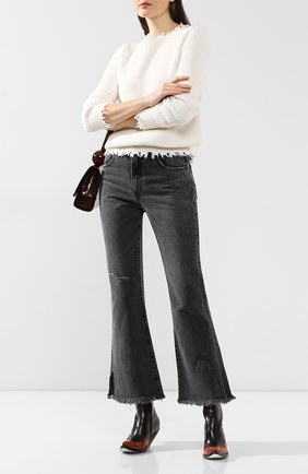 Женские джинсы MOUSSY черного цвета, арт. 025CAC11-1140 | Фото 2