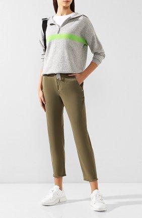 Женские джинсы RAG&BONE хаки цвета, арт. W292714420LVE | Фото 2