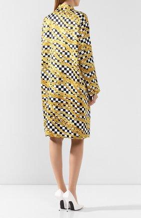 Платье с принтом | Фото №4