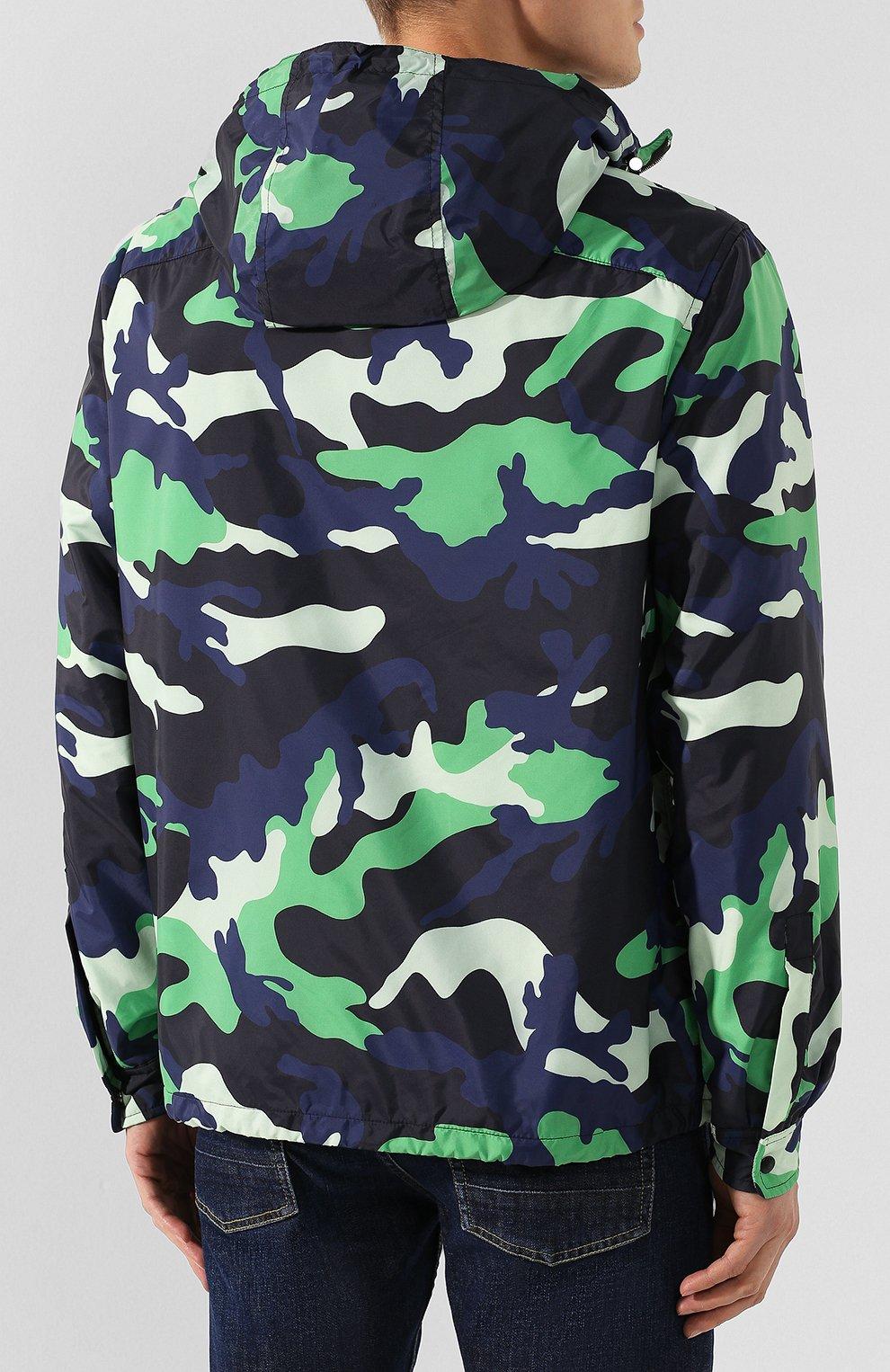 Мужская куртка VALENTINO зеленого цвета, арт. TV3CIF50JEJ | Фото 4