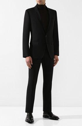 Мужской шерстяной костюм DOLCE & GABBANA черного цвета, арт. GK0EMT/GEI59 | Фото 1