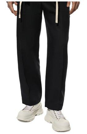 Мужские текстильные кроссовки ALEXANDER MCQUEEN белого цвета, арт. 604257/W4L32 | Фото 2