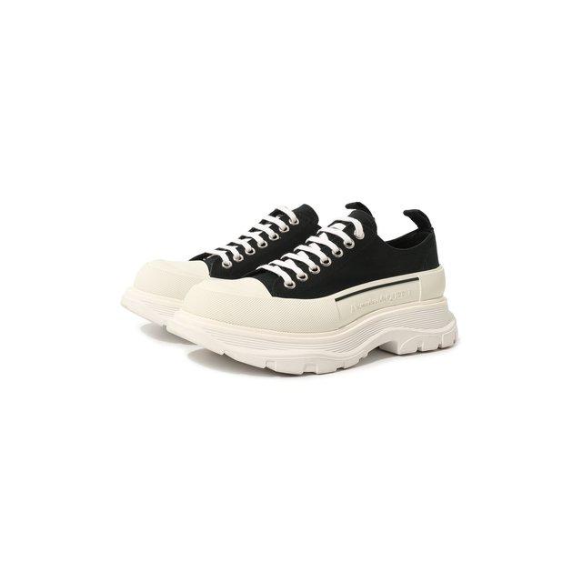 Текстильные кроссовки Alexander McQueen