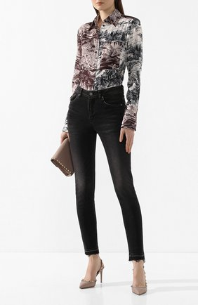 Женская кожаные туфли valentino garavani rockstud VALENTINO бежевого цвета, арт. TW2S0H04/VCE | Фото 2