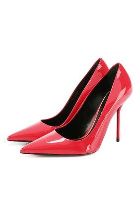 Женская кожаные туфли TOM FORD красного цвета, арт. W2524T-LCL072 | Фото 1