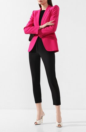 Женские кожаные мюли TOM FORD белого цвета, арт. W2569T-LKD002 | Фото 2