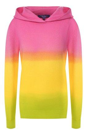 Женский кашемировое худи RALPH LAUREN разноцветного цвета, арт. 290798355 | Фото 1